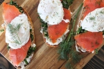 A Little Bit of Everything Smoked Salmon Toasts