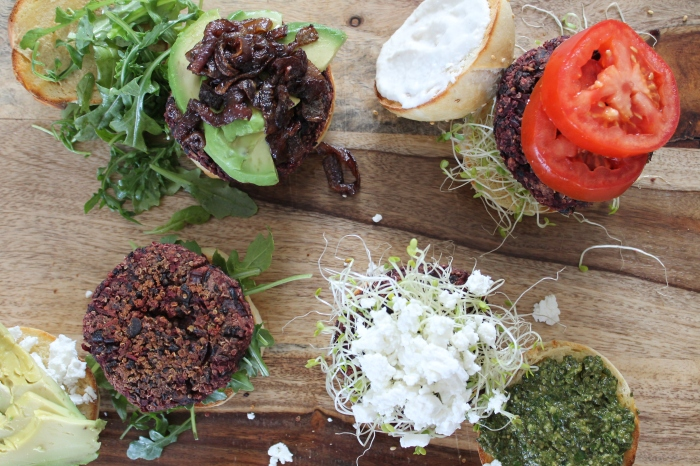 Many Flavors of Beet Burger