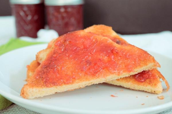 Rhubarb Toast