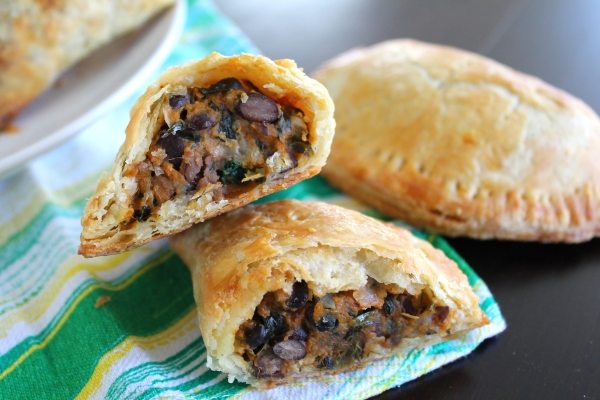 Smoky Sweet Potato and Black Bean Empanadas